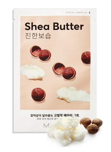 Missha Shea Yağı Besleyici Ve Yoğun Nemlendirici Yaprak Maske (1Ad) Airy Fit Sheet Mask Shea Butter Renksiz